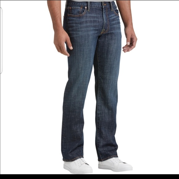 LUCKY BRAND 363 Straight Jeans -34/30